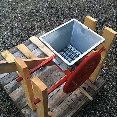 Hur gör man äppelmust - utrustningen du behöver 1