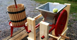 Ny utrustning för att göra äppelmust 1