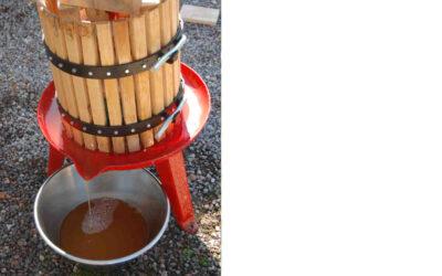 Hyr äppelkross och fruktpress i Valbo